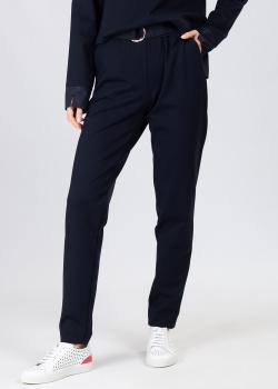 Трикотажные брюки Airfield темно-синего цвета, фото
