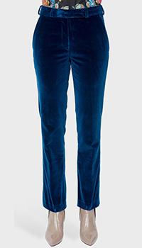 Синие брюки Etro со средней посадкой, фото