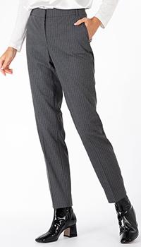 Серые брюки Weill в полоску, фото