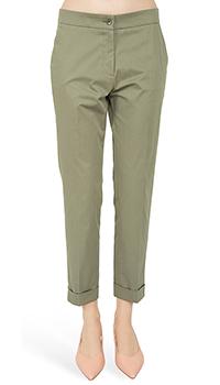 Зауженные брюки Etro цвета хаки, фото