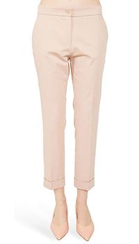 Розовые брюки Etro с отворотами, фото