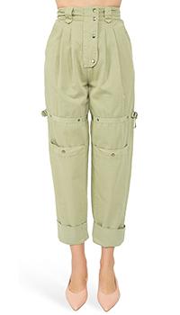 Широкие брюки Etro с заклепками, фото