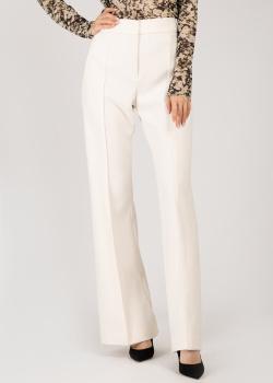Расклешенные брюки Dorothee Schumacher белого цвета, фото