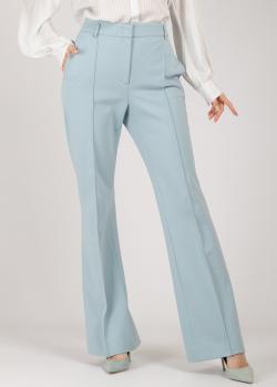 Голубые брюки Dorothee Schumacher со стрелками, фото