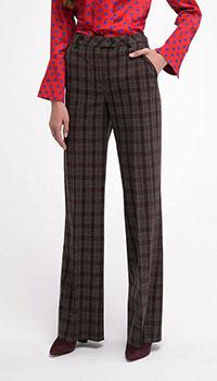 Прямые брюки Shako классические в клетку, фото
