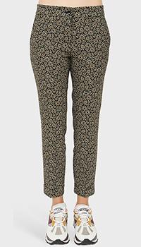 Укороченные брюки Etro с абстрактным узором, фото
