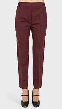 Классические брюки Etro с шелковыми лампасами, фото