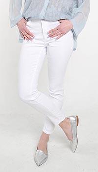 Укороченные брюки Cerruti белого цвета, фото