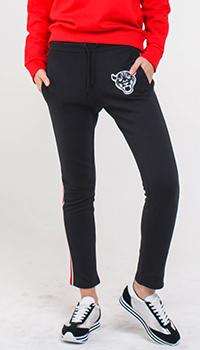 Спортивные брюки Quantum Courage черного цвета, фото