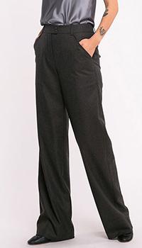 Серые брюки Shako с высокой посадкой, фото