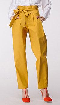 Хлопковые брюки Shako с поясом, фото