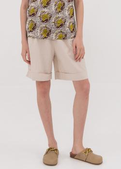 Льняные шорты Shako с кулиской на талии, фото