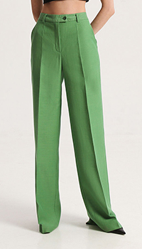 Брюки Shako зеленого цвета, фото