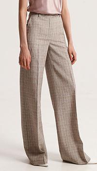 Бежевые брюки Shako со стрелками, фото