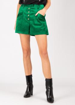 Зеленые шорты Pinko с карманами, фото