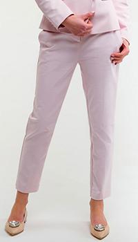 Укороченные брюки Pinko розового цвета, фото