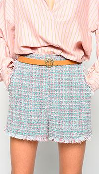 Шорты Pinko с многоцветным узором, фото