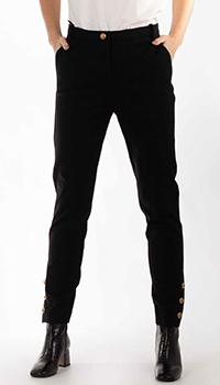 Зауженные брюки Pinko черного цвета, фото