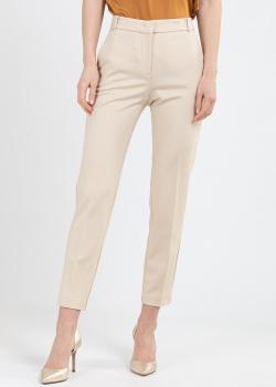 Укороченные брюки Pinko бежевого цвета, фото
