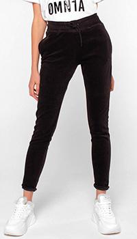 Зауженные брюки Quantum Courage коричневого цвета, фото