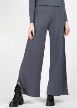 Трикотажные брюки Allude с разрезами по бокам, фото