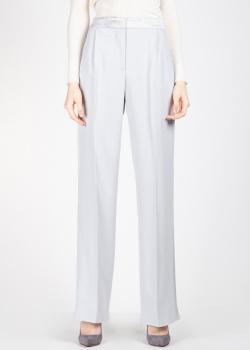 Широкие брюки Alberta Ferretti с атласным поясом, фото