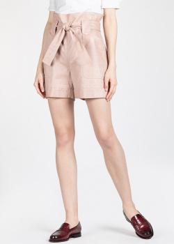 Кожаные шорты Drome с высокой талией, фото