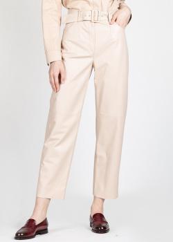 Кожаные брюки Drome прямого кроя, фото