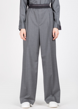 Широкие брюки Fabiana Filippi со стрелками, фото