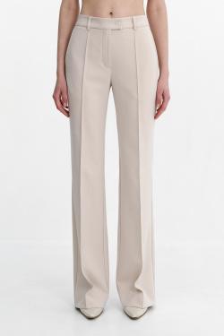 Бежевые брюки Shako с высокой посадкой, фото