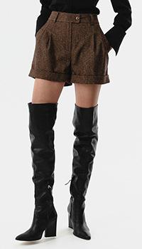 Шерстяные шорты Shako с высокой талией, фото