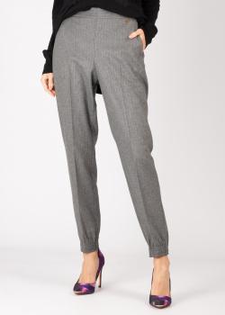 Серые брюки Twin-Set с полосками, фото