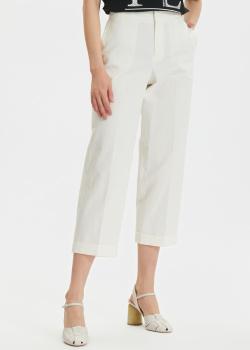 Укороченные брюки Twin-Set со стрелками, фото