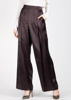 Шелковые брюки Nina Ricci со стрелками, фото