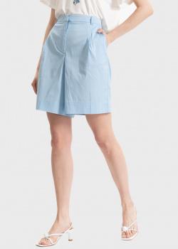 Широкие шорты Twin-Set голубого цвета, фото