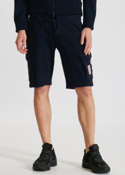 Синие шорты Paul&Shark с карманами, фото