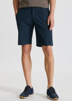 Хлопковые шорты Paul&Shark синего цвета, фото
