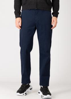 Синие брюки Harmont&Blaine с косыми карманами, фото