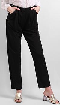 Широкие брюки Patrizia Pepe черного цвета, фото
