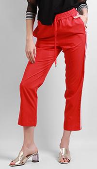 Спортивные брюки Patrizia Pepe красного цвета, фото