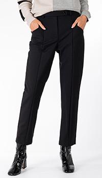 Классические брюки Patrizia Pepe черного цвета, фото
