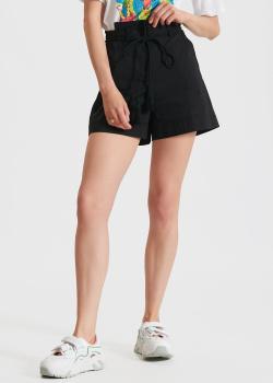 Черные шорты Patrizia Pepe с высокой талией, фото