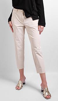 Бежевые брюки Riani со стрелками, фото