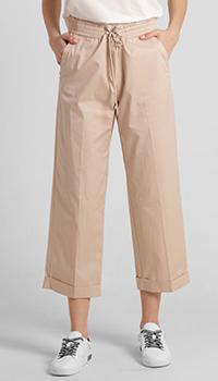 Бежевые брюки Riani укороченные, фото