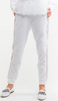 Спортивные брюки Ermanno Scervino с кружевом, фото
