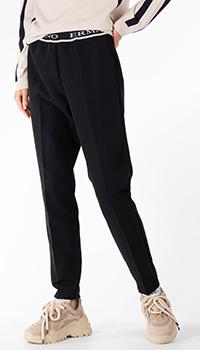 Черные брюки Ermanno Scervino на резинке, фото