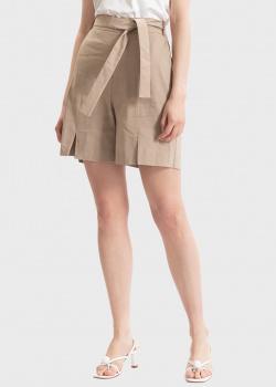 Льняные шорты D.Exterior с разрезами, фото