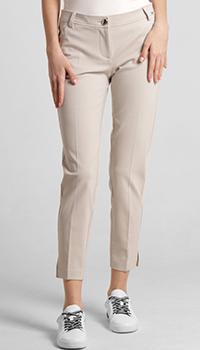 Зауженные брюки Airfield бежевого цвета, фото