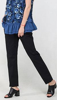 Брюки Blugirl Blumarine черного цвета, фото