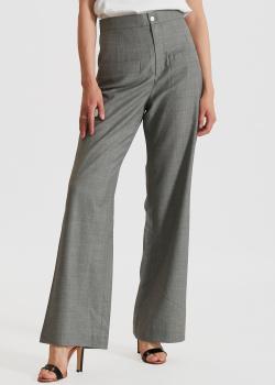 Широкие брюки Miss Sixty серого цвета, фото